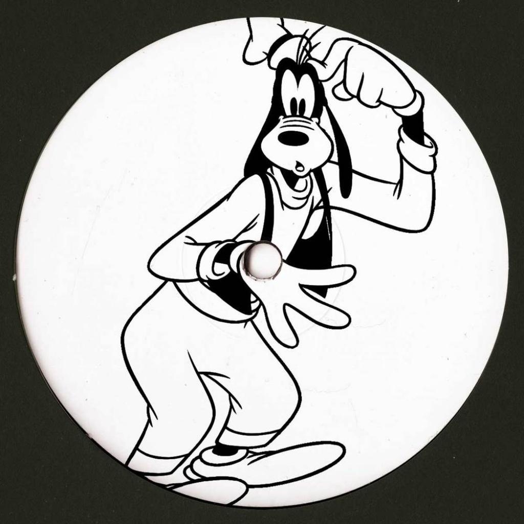 "( BLACKTOONEY 02 ) GOOFY - BLACKTOONEY 02 (hand-stamped 180 gram vinyl 12"") Tooney Lunes"