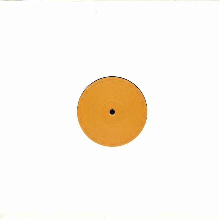 "(  TWLTD 0006 ) Thomas WOOD - Love Filter EP (12"") TW Limited"