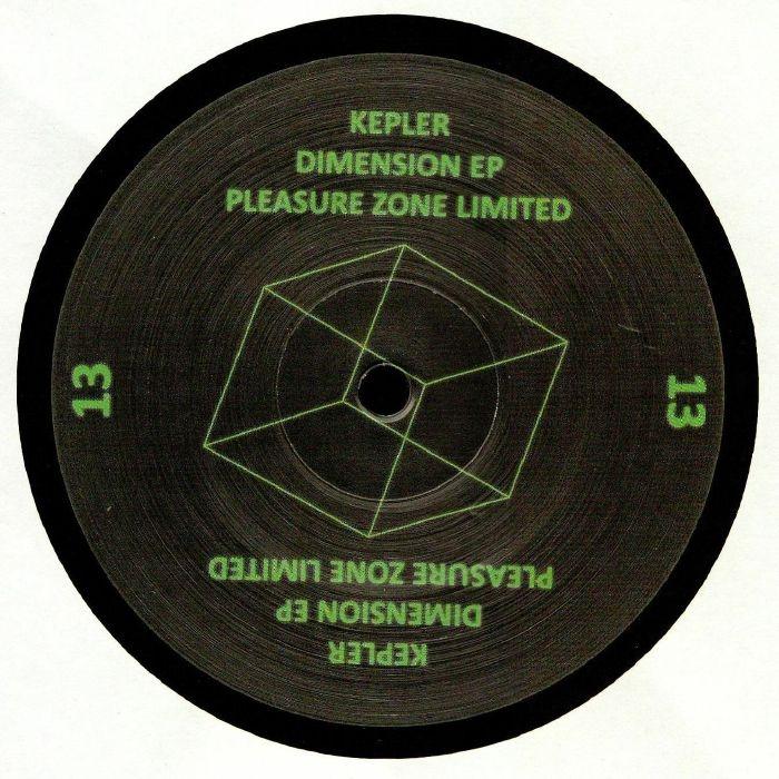 """( PLZ 013LTD )  KEPLER - Dimension EP (12"""") Pleasure Zone Germany"""