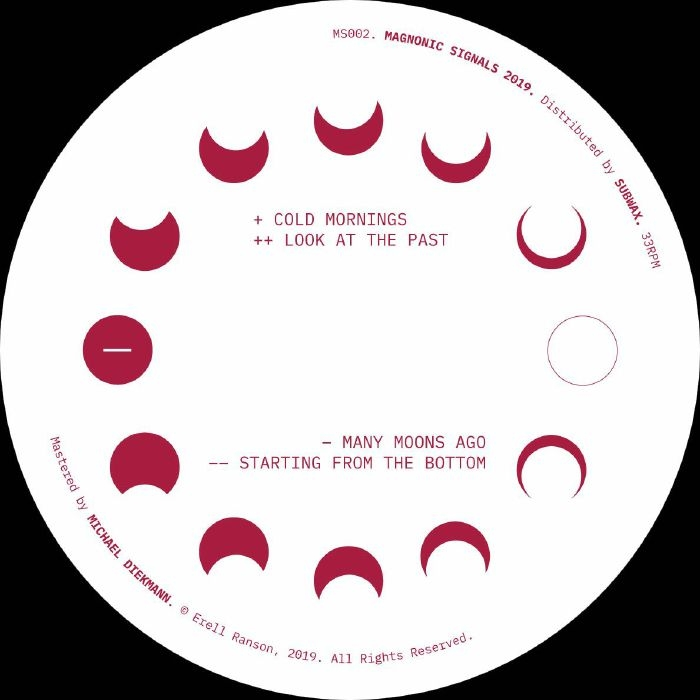 """( MS 002 ) Erell RANSON - Many Moons Ago (12"""") Magnonic Signals Spain"""