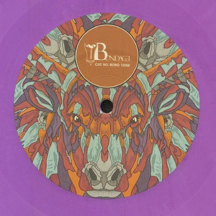"( BOND 12058 ) PORNBUGS - Unas Gotas (180 gram purple marbled vinyl 12"") Bondage Germany"
