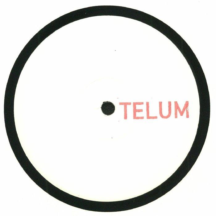 """(  TELUM 001 ) TELUM - TELUM 001 (hand-stamped 12"""") Telum Germany"""