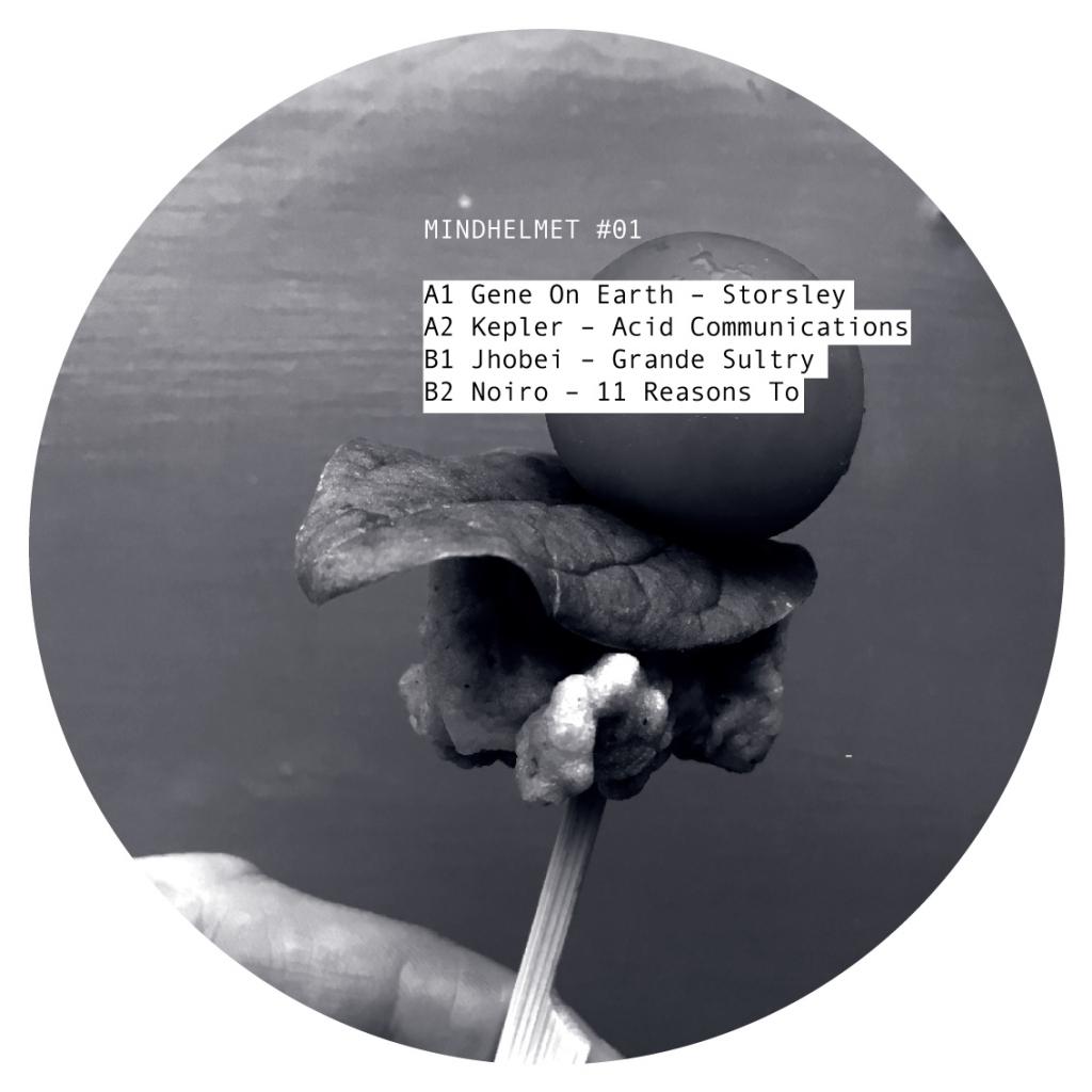 """( HELMET_01 ) VARIOUS (Gene On Earth, Kepler...) - Mindhelmet 01 (12"""") Mindhelmet"""