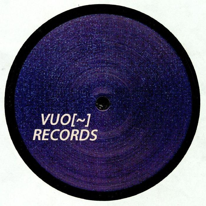 """( VUO 005 ) Marco CASSANELLI / SHUFFLESS - Red Echo EP (12"""") Vuo"""