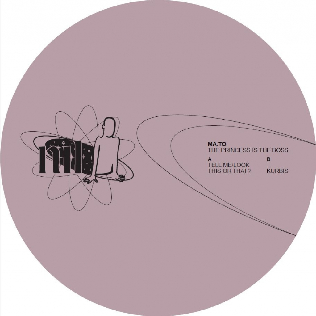 """( NIL 006 ) MA TO - The Princess Is The Boss (12"""") Nil US"""