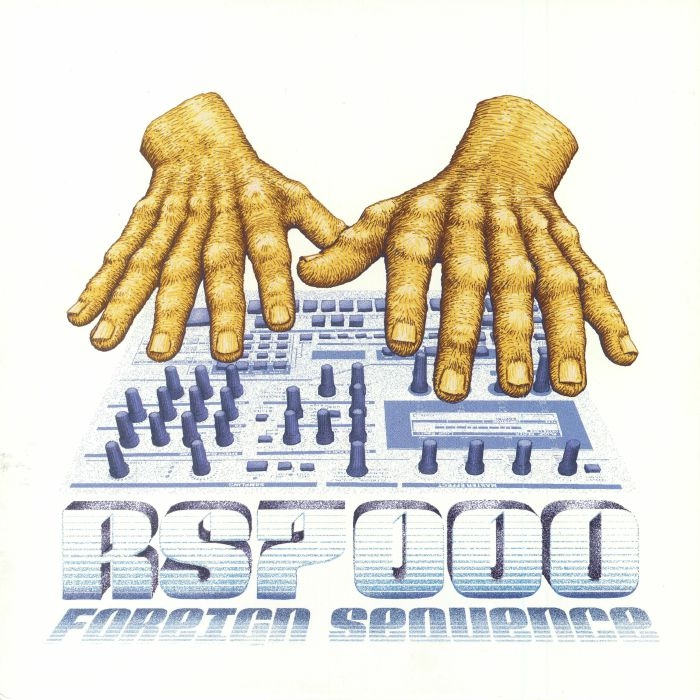 """( PHR 01 ) FOREIGN SEQUENCE - RS7000 (heavyweight orange vinyl 12"""") Post Human France"""