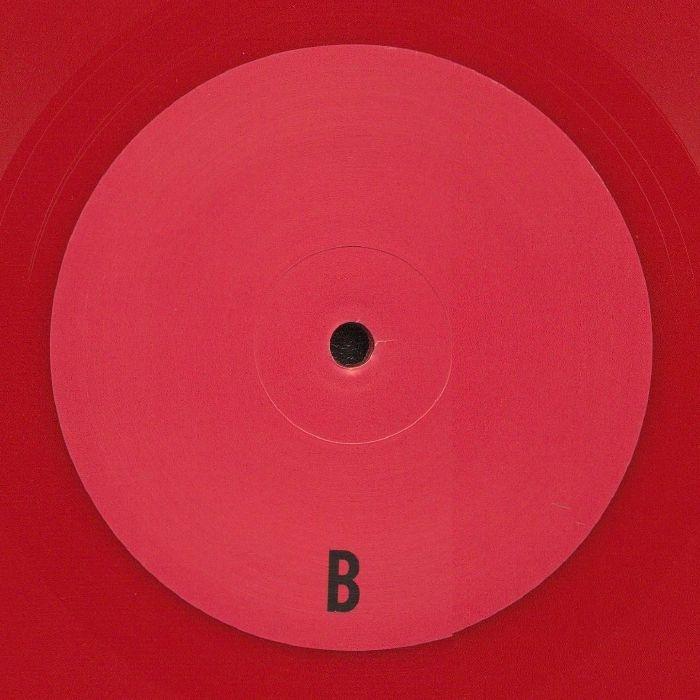 """( UKNWN 01RP2 ) CHIKYU U - UKNWN 01 (red vinyl 12"""") Chikyu-u"""