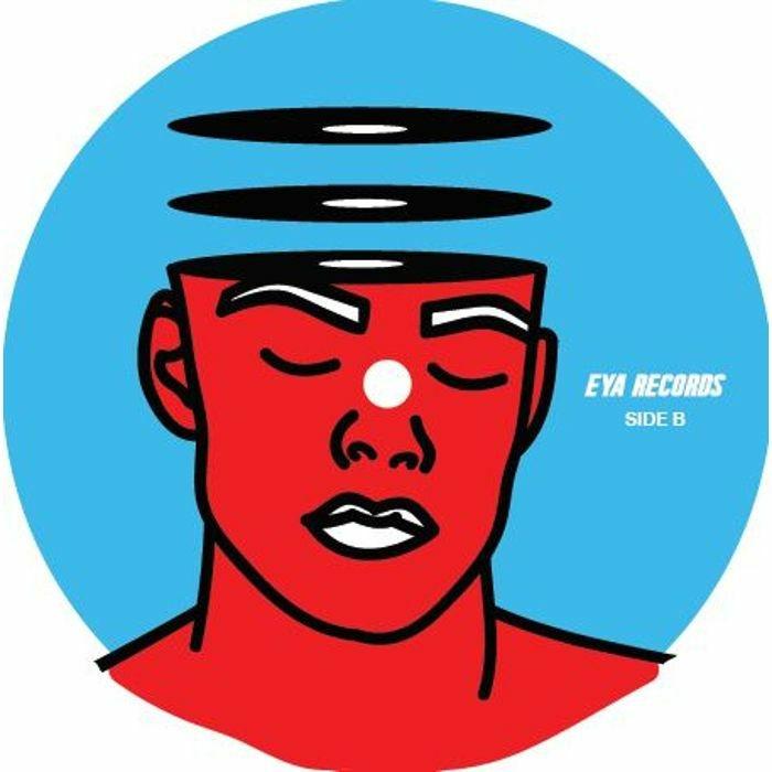 "( EYA 004 ) JOS / EVIL KNEBEL / POTEN - EYA 004 (140 gram vinyl 12"" + sticker) Eya"