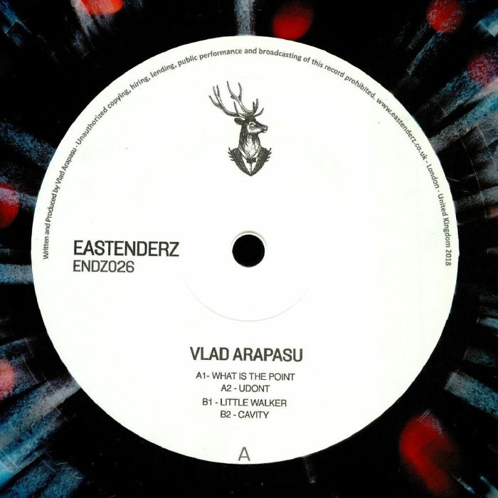 """( ENDZ 026 ) Vlad ARAPASU  -  ENDZ 026 (heavyweight splattered vinyl 12"""") Eastenderz"""