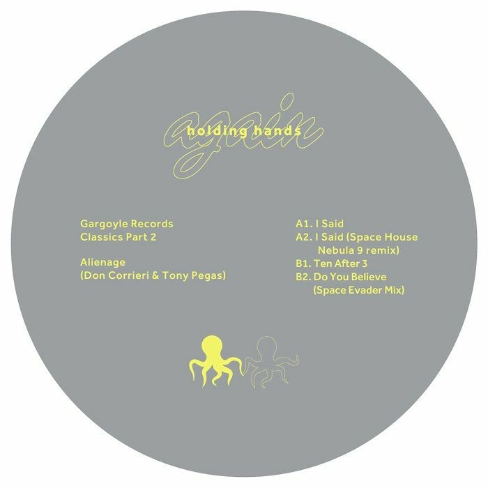 "( HHAGAIN 006 ) ALIENAGE - Gargoyle Records Classics Part 2 (12"") Holding Hands"