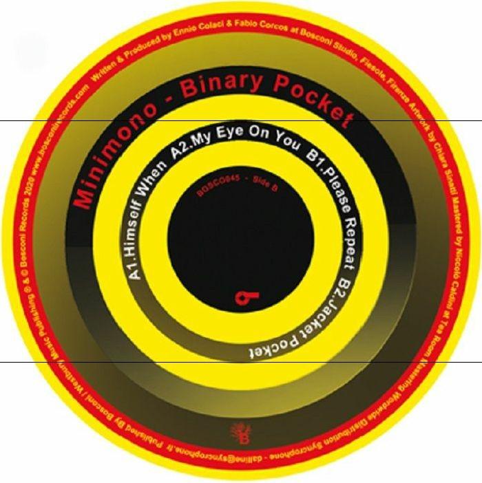 """( BOSCONI 045 ) MINIMONO - Binary Pocket (12"""") Bosconi Italy"""