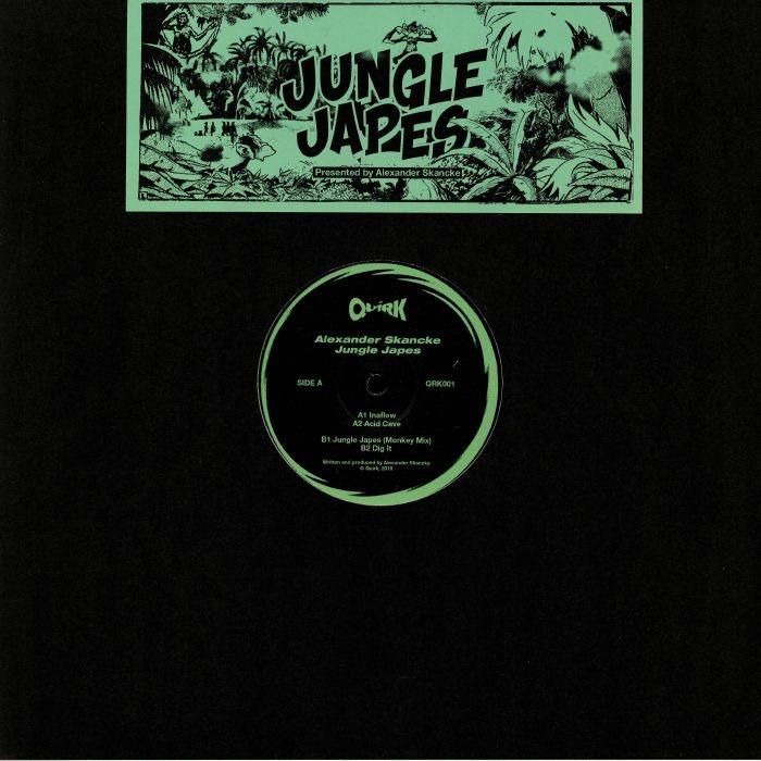 """( QRK 001 ) Alexander SKANCKE - Jungle Japes (12"""") Quirk"""