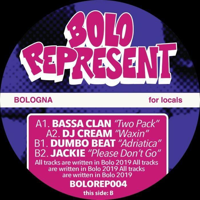 """( BOLOREP 004 ) BASSA CLAN / DJ CREAM / DUMBO BEAT / JACKIE - Bolo Represent 004 (12"""") Bolo Represent Italy"""