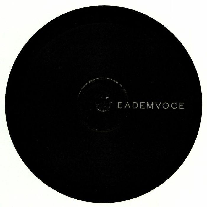 "( EDV 001 ) 2VOLT / EMASA - Black (heavyweight vinyl 12"") EademVoce Italy"