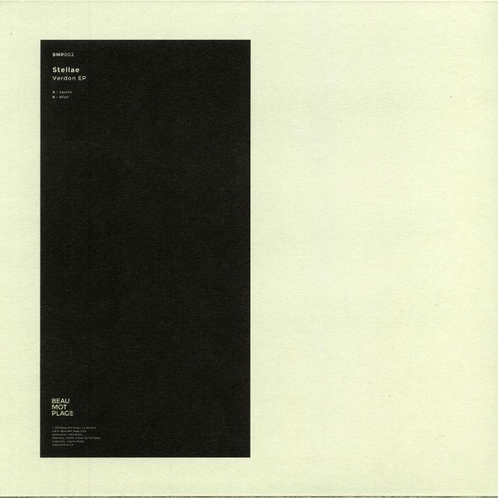 """( BPM 002 ) STELLAE - Verdon EP (12"""") Beau Mot Plage France"""