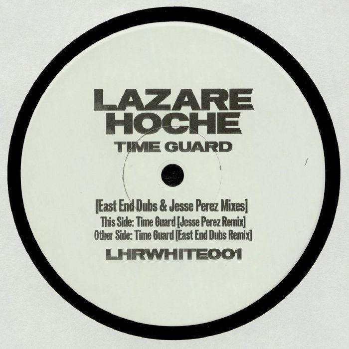 "( LHRWHITE 01 ) LAZARE HOCHE - Time Guard (East End Dubs/Jesse Perez Mix) (180 gram vinyl 12"" limited to 300 copies) Lazare Hoche France"