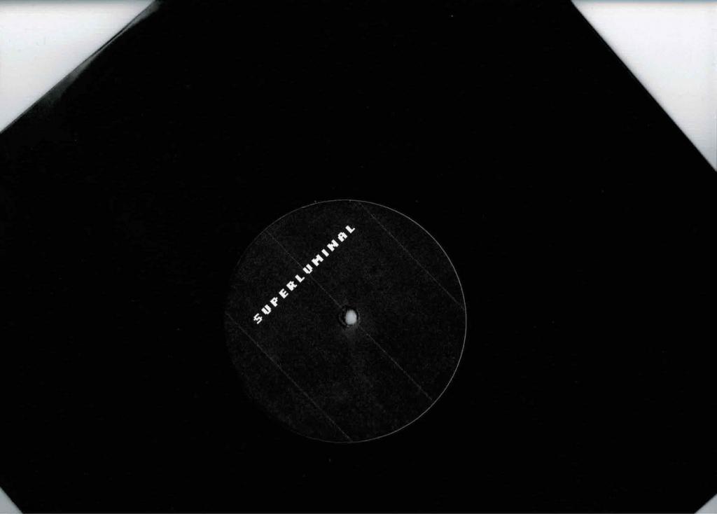 """( SUPLU 002 ) MATTHIAS - DTRT Dream During A Cold Winter ( 12"""" ) - Superluminal Germany"""