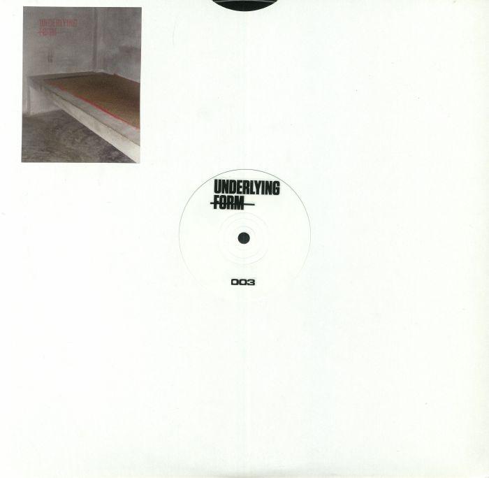 "(  UF 003 )  Darren ALLEN - Popular Delusions - (12"") - Underlying Form"