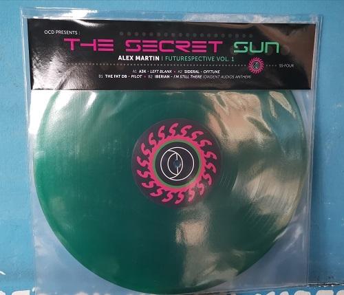 "( OCD.SS FOUR ) OCD presents The Secret Sun ALEX MARTIN - Futurespective Vol.1 (12"") Open Channel for Dreamers"