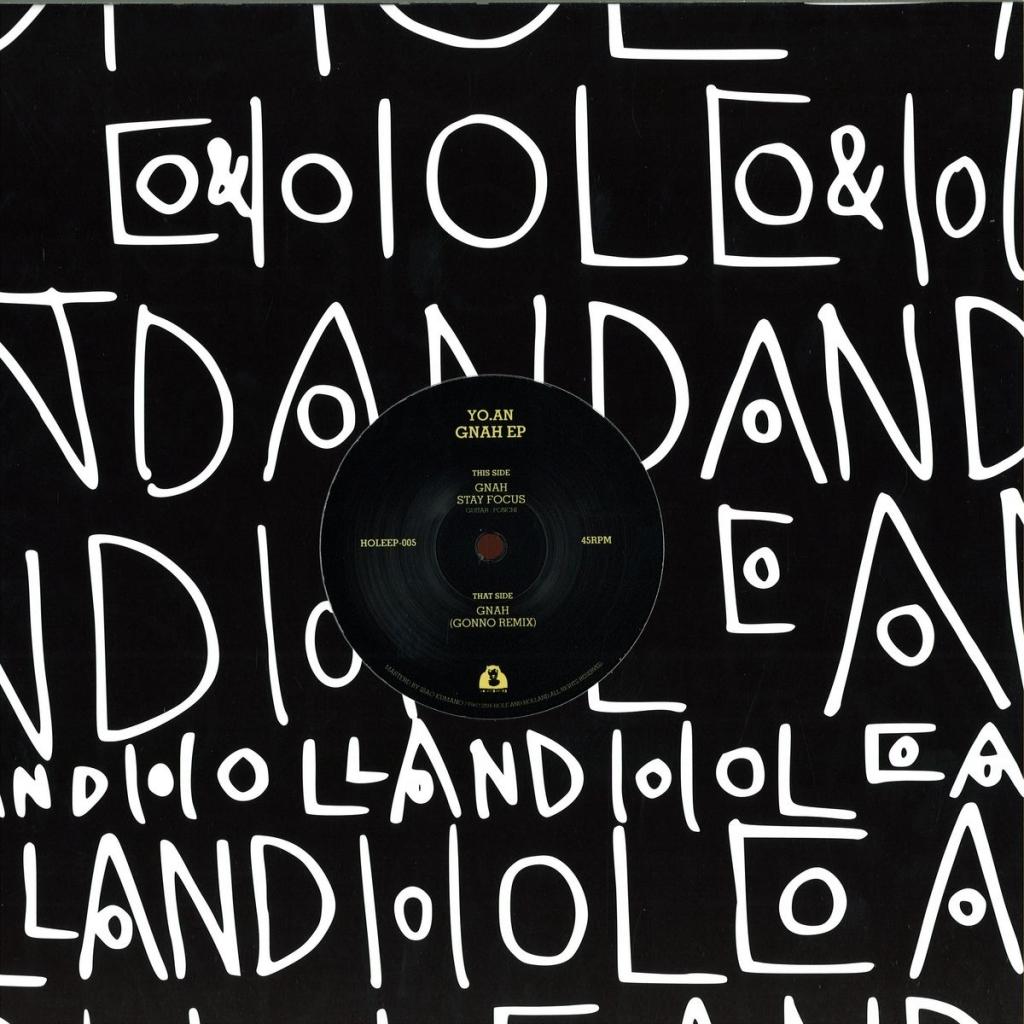 """( HOLEEP 005 ) YO AN - Gnah EP (12"""") - Hole & Holland Japan"""