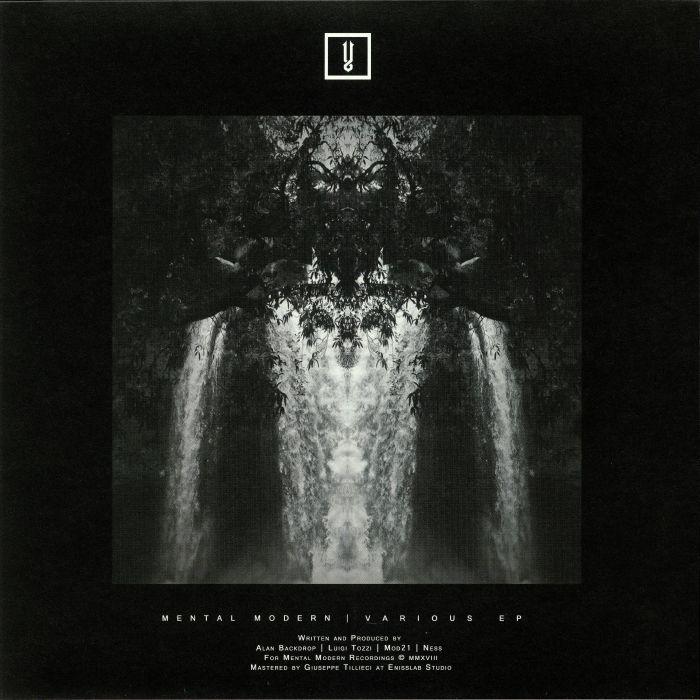 """( MMV 009 ) Luigi TOZZI / MOD21 / ALAN BACKDROP / NESS - Various EP (heavyweight vinyl 12"""") Mental Modern Italy"""
