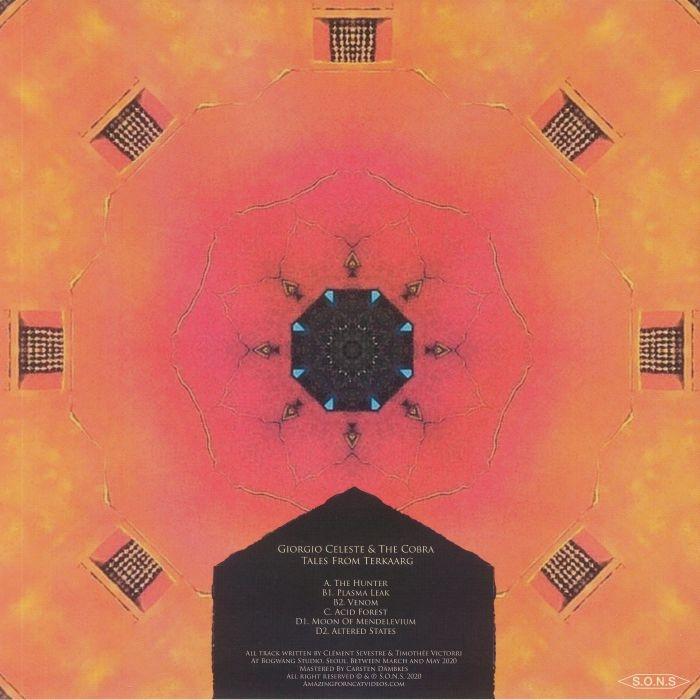 ( SO 08TKNS / TK00 ) Giorgio CELESTE & THE COBRA - Tales From Terkaarg (2xLP) SONS / Terkaarg Forges