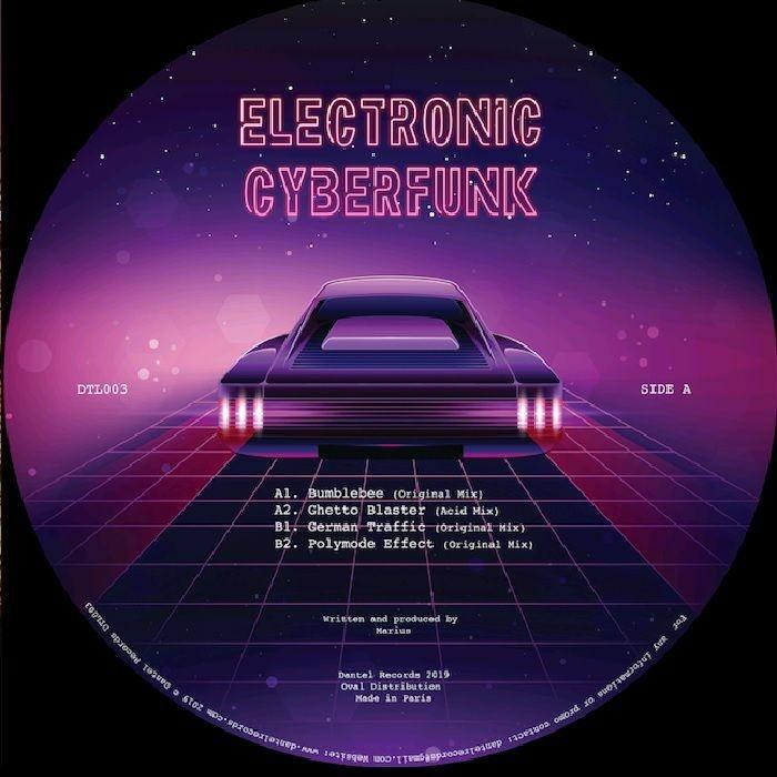 "( DTL 003 ) MARIUS - Electronic Cyberfunk EP (180gr vinyl 12"") Dantel France"