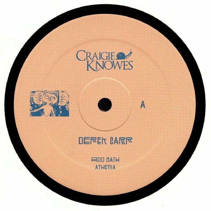 """( CKNOWEP 10 ) Derek CARR - Pioneers EP (12"""" repress) (1 per customer) Craigie Knowes"""