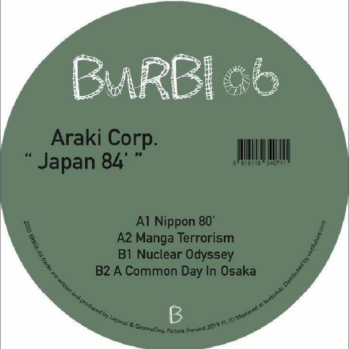 "( BRB 06 ) ARAKI CORP - Japan 84 (12"") Burbi Germany"