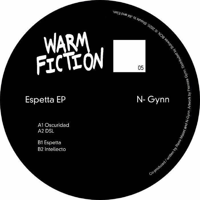 """( WF 05 ) N GYNN - Espetta EP (12"""") Warm Fiction Spain"""