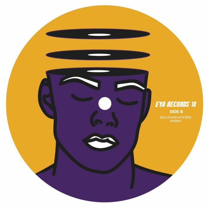 """( EYA 010 ) MASTER FLASHHH - Enigma EP (140 gram vinyl 12"""") Eya"""