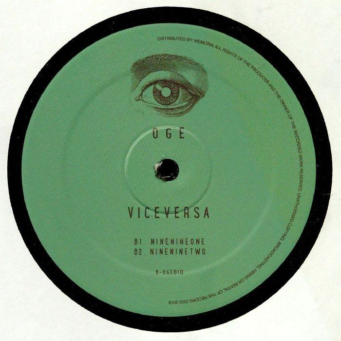 "( OGE 010 ) VICEVERSA -  Zerozerozero (12"") OGE"