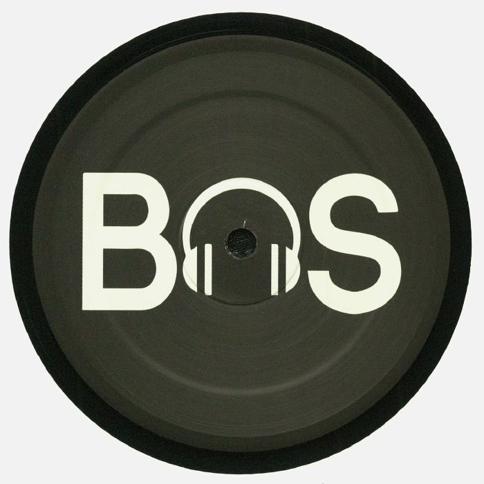 """( BS 01 ) K RAD - Bursted Tones EP (12"""") - Better Sound Italy"""