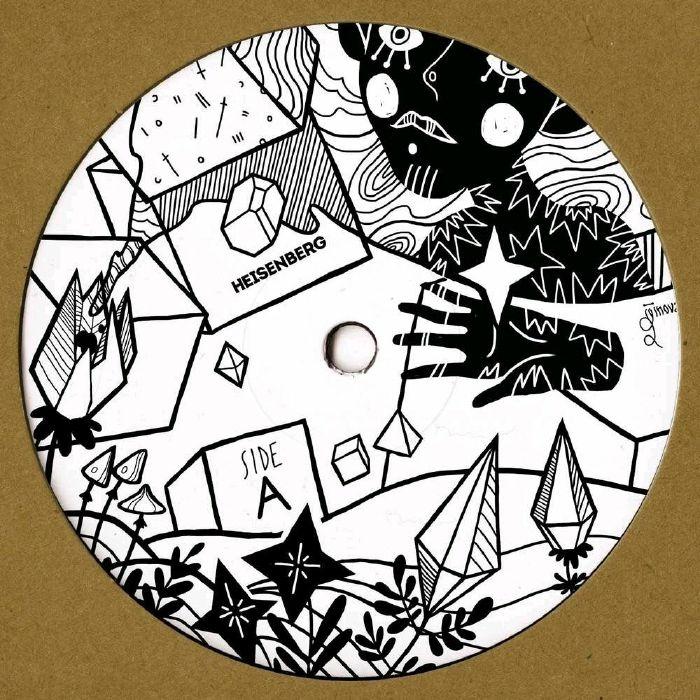 """(  HSBRGV 010 ) ADAMOV / SAKTU - Unsa EP (12"""") Heisenberg Holland"""