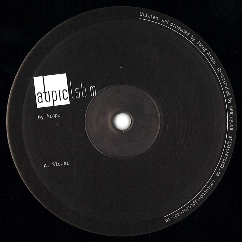 "( ATIPICLAB 001 ) ARAPU - ATIPICLAB 001 (12"") Atipic Romania"