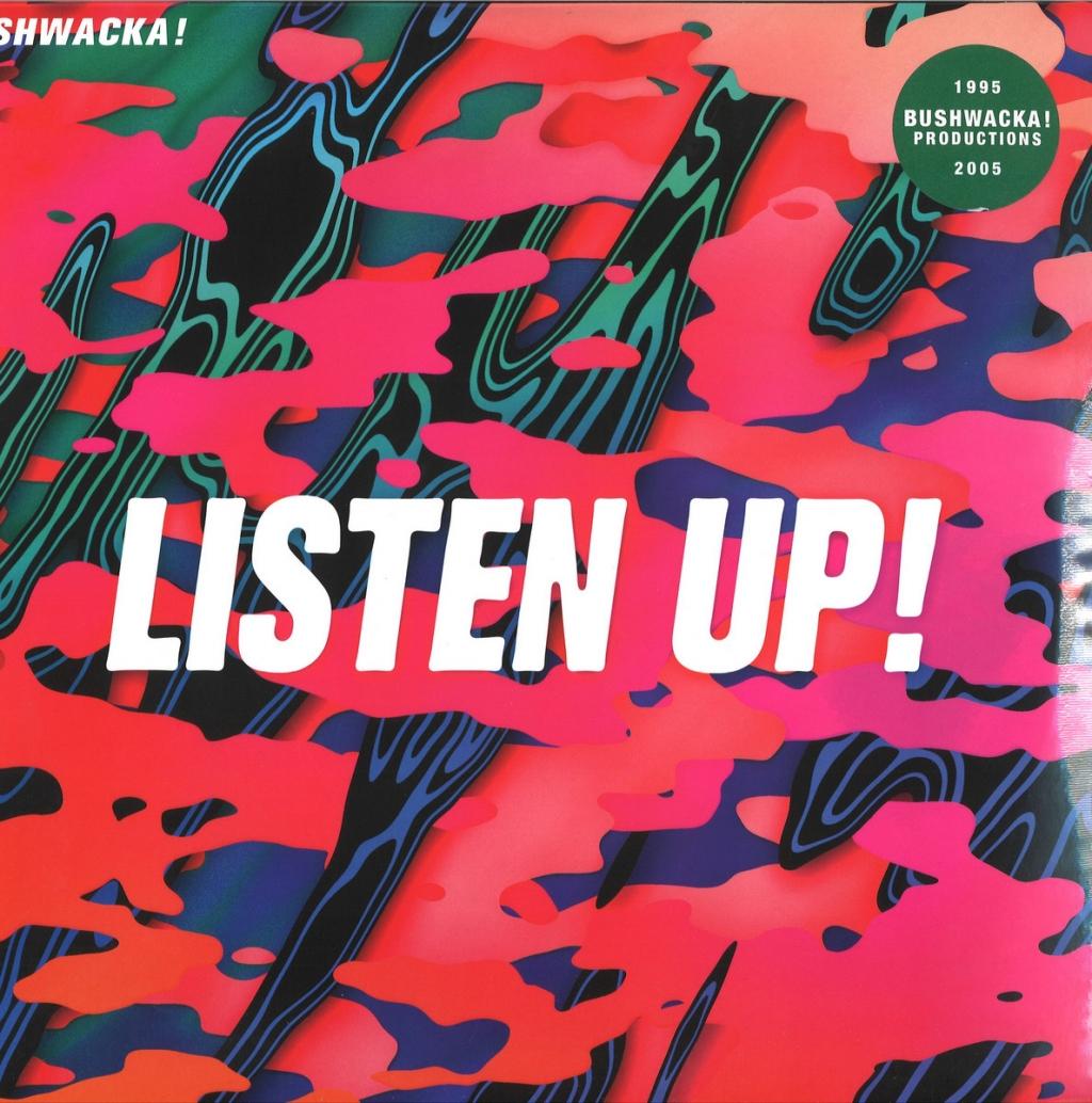 ( ABPLP 003 ) BUSHWACKA! - Listen Up! Vol 1 (2xLP) Above Board