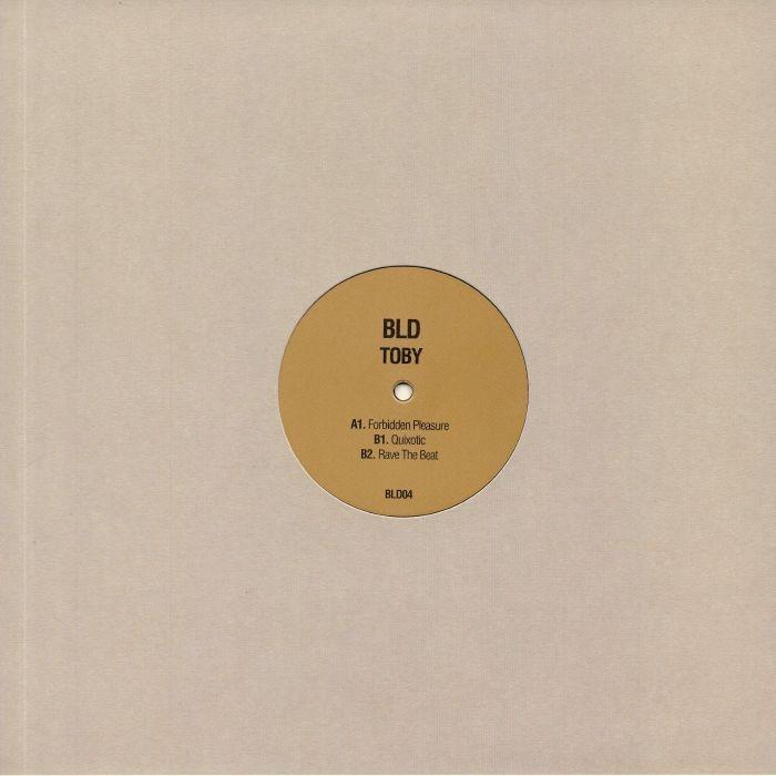 """( BLD 04 ) BLD - Toby (12"""") BLD Tape Recordings Spain"""