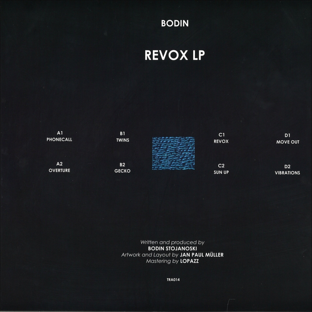 ( TRAFFIC 014 )  BODIN - Revox (2xLP) Traffic