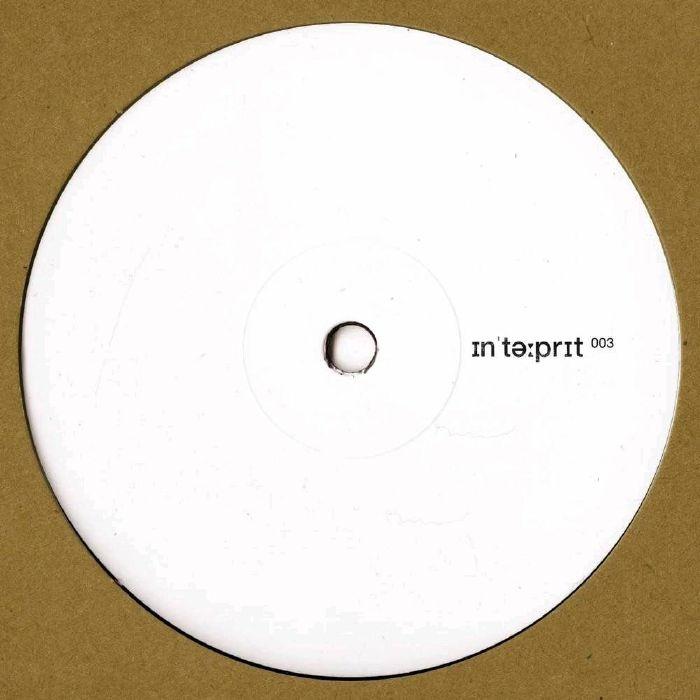 "( INTERP 003 ) INTERPRET - INTERP 003 (180 gram vinyl 12"") Interpret Germany"