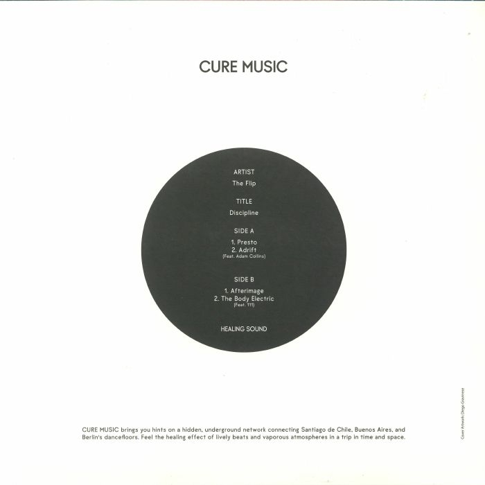 "( 6 X ) The FLIP - Discipline (180 gram vinyl 12"") Cure Music"