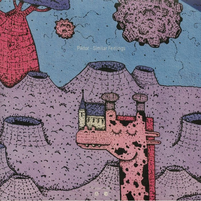 "( FSRO 002 ) PIKTOR - Similar Feelings (purple vinyl 12"") Feeder Sound Romania"