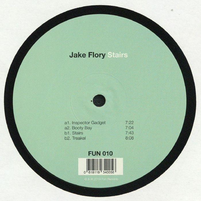 "(  FUN 010 ) Jake FLORY - Stairs (12"") Fun Rec Germany"
