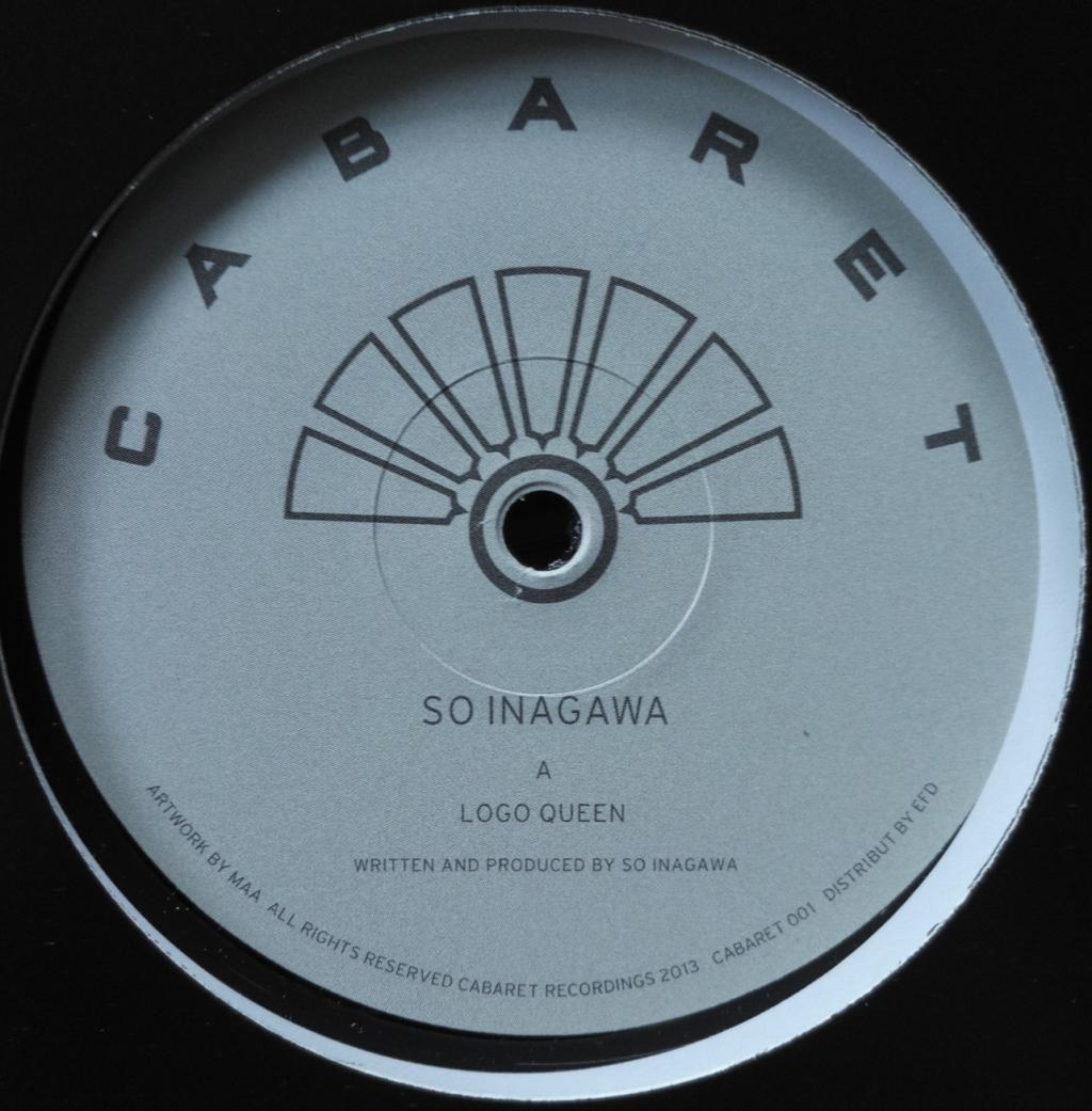 "( CABARET 001 RE ) SO INAGAWA - Logo Queen (2018 repress 12"") Cabaret Japan"