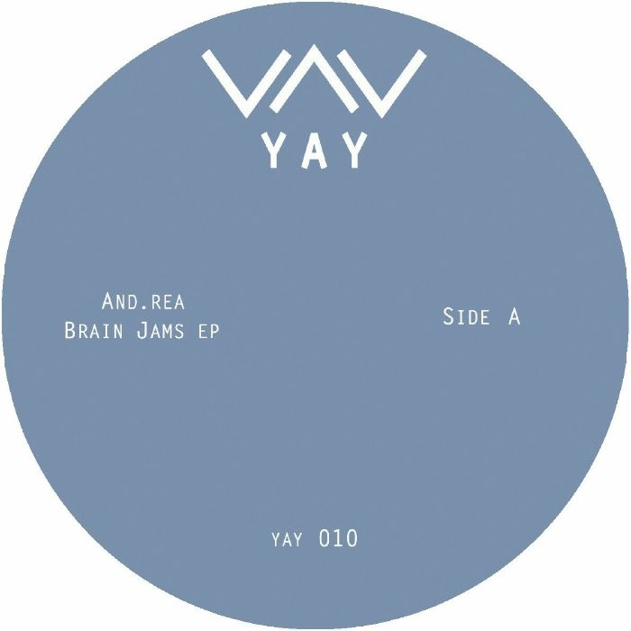 "( YAY 010 ) AND REA - Brain Jams EP (12"") Yay"