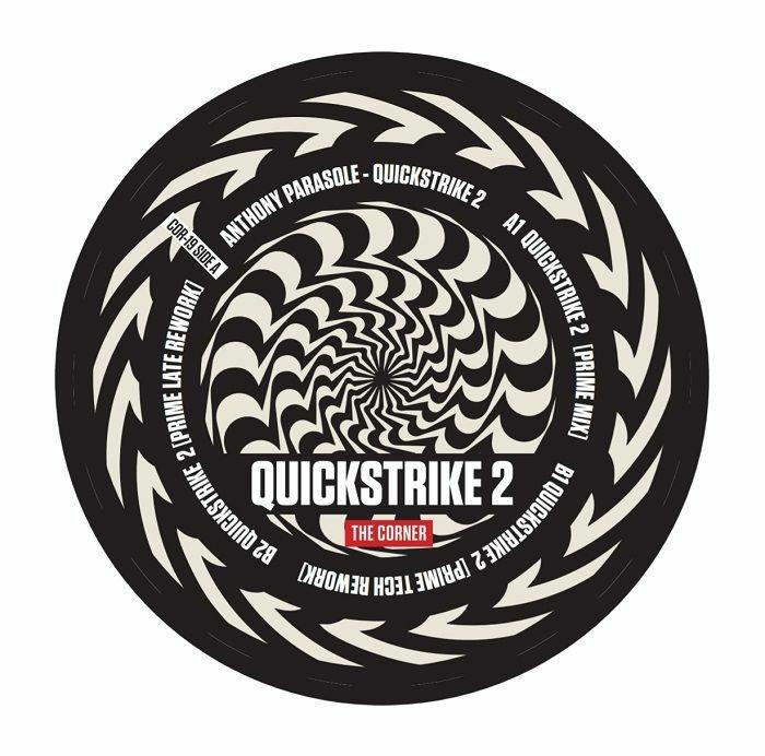 "( COR 19 ) Anthony PARASOLE - Quickstrike 2 (12"") The Corner US"