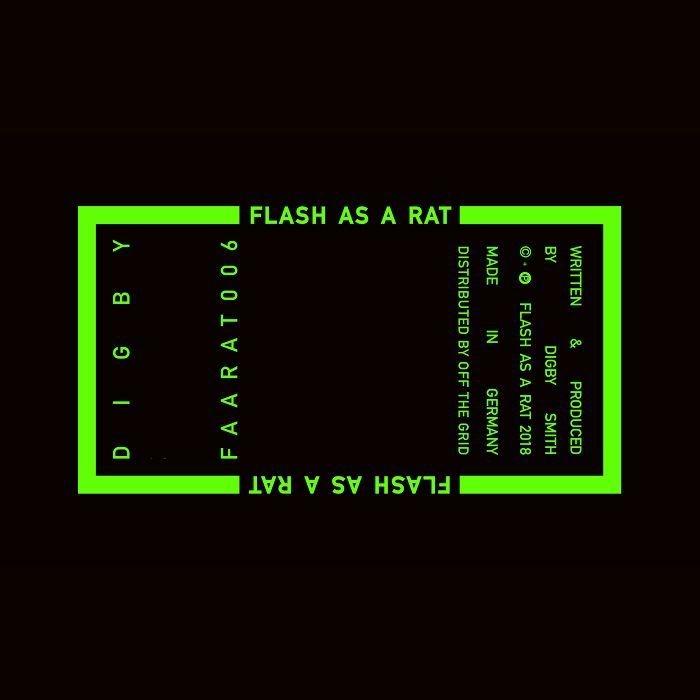 "( FAARAT 006 ) DIGBY - FAARAT 006 (12"") Flash As A Rat"