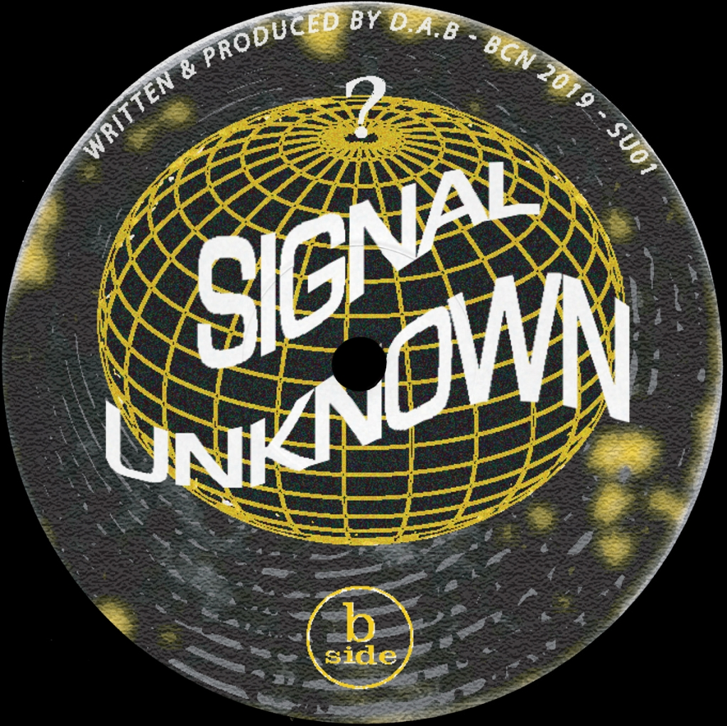 """( SU 01 ) DAB - Night Of Tapes EP (12"""")  Signal Unknown Spain"""