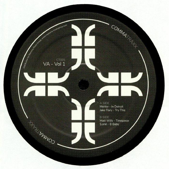 "( CT 001 )  MEHLOR / JAKE FLORY / MATT WILLS / S ONN - Comma Traxx Vol 1 (12"") Comma Traxx"