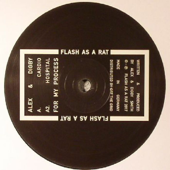 ( FAARATLP 1 ) ALEX & DIGBY -  For My Process (3xLP) - Flash As A Rat