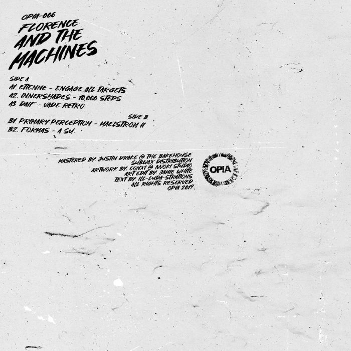"( OPIA 006 ) ETIENNE / INNERSHADES / DAIF / PRIMARY PERCEPTION / FORMAS - Florence & The Machines (12"") Opia"